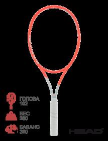Тестовая ракетка для тенниса Head Graphene 360+ Radical S 2021