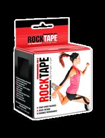 Кинезиотейп RockTape Classic, 5см х 5м (Черный)