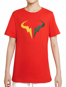 Футболка Nike Court Dri-FIT Rafa B (Красный)
