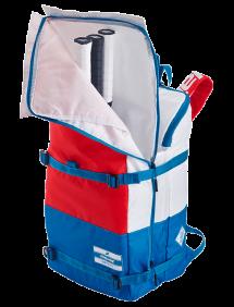 Рюкзак Babolat Evo 3+3 (Белый/Голубой/Красный 203)