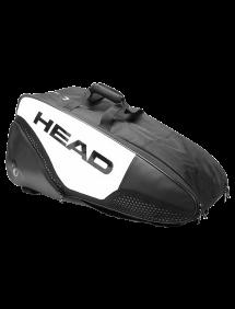 Сумка Head Djokovic 6R Combi 2021 (Черный/Белый)