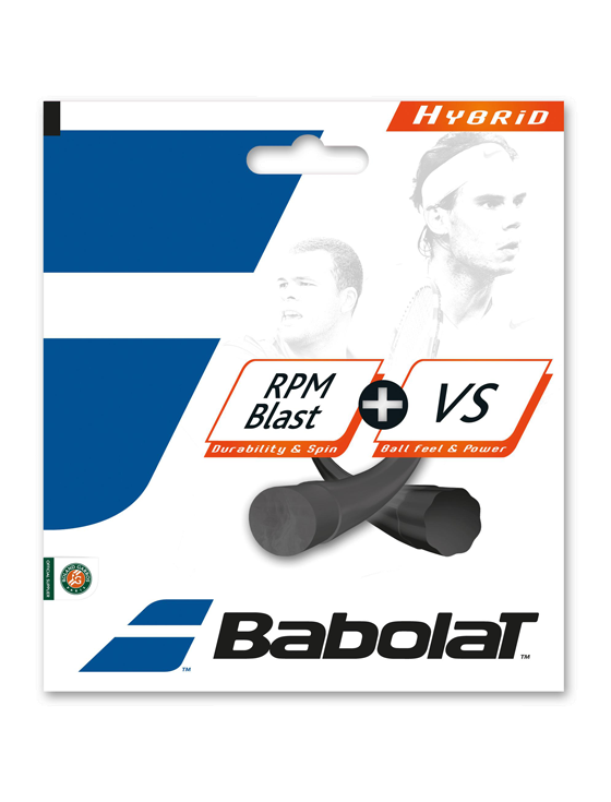 Струны для тенниса Babolat Hybrid RPM Blast + VS 12m