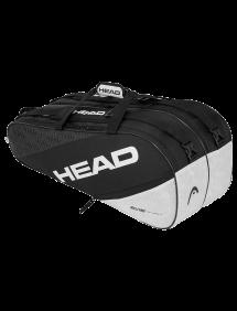 Сумка Head Elite 9R Supercombi (Черный/Белый)