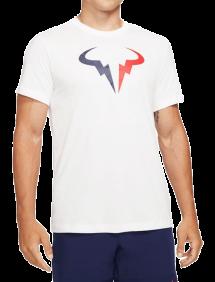 Футболка Nike Court Dri-FIT Rafa M(Белый)