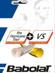 Струны для тенниса Babolat Hybrid Pro Hurricane Tour + VS 12m