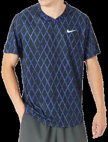 Футболка Nike Court Dri-FIT Victory Top Print M (Синий)