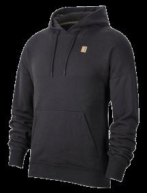 Худи Nike Court Fleece Hoodie M (Черный)