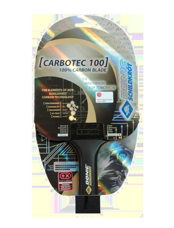 Ракетка для настольного тенниса Donic-Schildkrot Carbotec 100