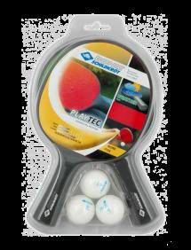 Набор для настольного тенниса Donic-Schildkrot PlayTec (2 ракетки + 3 мяча)