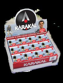 Мячи для сквоша Karakal Red Dot Squash Balls 12 (12x1)