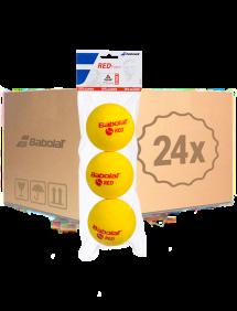Теннисные мячи Babolat Red Foam 72 (24x3)