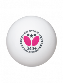 Мячи для настольного тенниса Butterfly *** G40+ x3