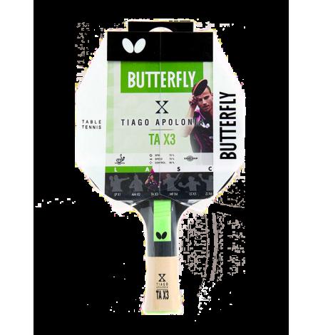 Ракетка для настольного тенниса Butterfly Tiago Apolonia TA X3