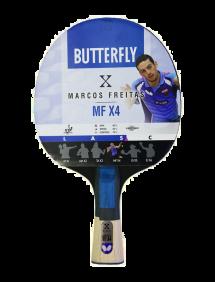 Ракетка для настольного тенниса Butterfly Marcos Freitas MF X4