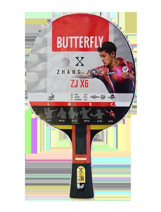 Ракетка для настольного тенниса Butterfly Zhang Jike ZJ X6