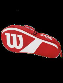 Сумка Wilson Match III 3R (Красный/Белый)