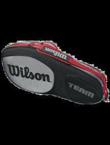 Сумка Wilson Team III 3R (Черный/Серый)