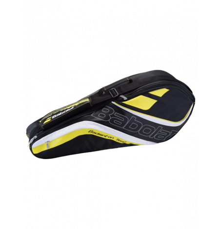Сумка Babolat Team Line Badminton x4 (Желтый)