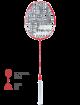 Ракетка для бадминтона Babolat Prime Blast (Красный)