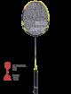 Ракетка для бадминтона Babolat Explorer I (Желтый)