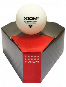 Мячи для настольного тенниса Xiom 40+ x3
