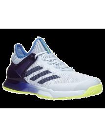 Кроссовки мужские Adidas Adizero Ubersonic 2 (Фиолетовый/Серый/Желтый)