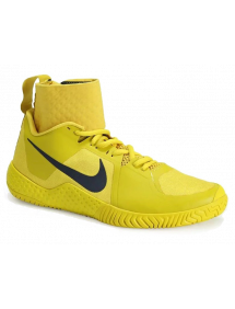 Кроссовки женские Nike Flare (Желтый/Синий)