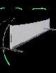 Теннисная сетка Z-Sport тренировочная, 3.1м, с каркасом