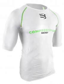 Футболка Compressport On/Off Short Sleeve Top (Белый)