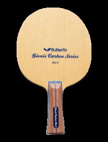 Ракетка для настольного тенниса сборная Butterfly Gionis Carbon ALL+, накладки Tenergy 05 FX