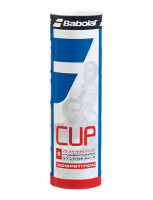 Воланы Babolat Nylon Cup (Белый) 6pcs