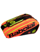 Сумка Babolat Pure x12 RG/FO (Черный/Красный/Желтый 287)