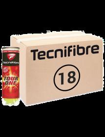 Теннисные мячи Tecnifibre Tour-One 72 (24x3)