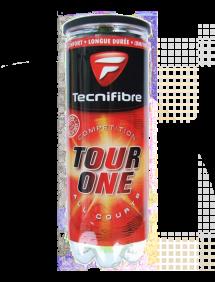 Теннисные мячи Tecnifibre Tour-One x3