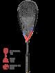 Ракетка для сквоша Tecnifibre Carboflex 135 X-Speed