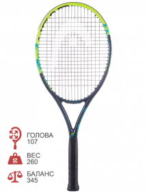Ракетка для тенниса Head IG Challenge Lite (Green)