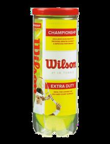 Теннисные мячи Wilson Championship Extra Duty x3