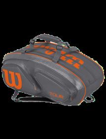 Сумка Wilson Tour V 15R (Серый/Оранжевый)