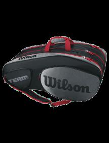 Сумка Wilson Team III 12R (Черный/Серый)
