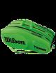 Сумка Wilson Team III 12R (Зеленый/Черный)