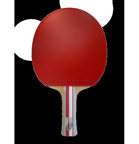 Ракетка для настольного тенниса сборная Butterfly Timo Boll Offensive AN накладки Sriver FX