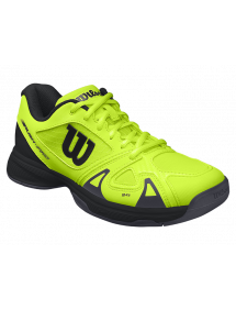 Кроссовки детские Wilson Rush Pro Junior 2.5 (Acid Lime/Black)