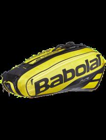 Сумка Babolat Pure Aero x6 (Желтый/Черный 191)