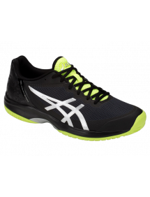 Кроссовки мужские Asics Gel-Court Speed (Black/Flash Yellow)