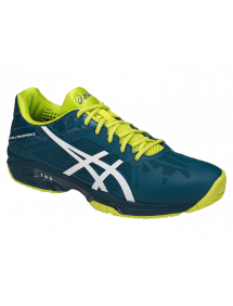 Кроссовки мужские Asics Gel-Solution Speed 3 (Ink Blue/White/Sulphur Spring)