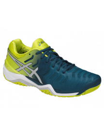 Кроссовки мужские Asics Gel-Resolution 7 (Ink Blue/Sulphur Spring/White)