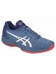 Кроссовки мужские Asics Solution Speed FF (Azure/White)