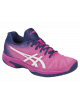 Кроссовки женские Asics Solution Speed FF (Pink Glo/White)