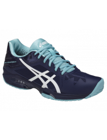 Кроссовки женские Asics Gel-Solution Speed 3 (Indigo Blue/White/Porcelain Blue)