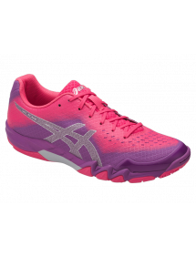Кроссовки женские Asics Gel-Blade 6 (Orchid/Prune/Rouge Red)